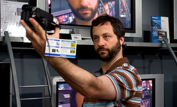 THE 40 YEAR OLD VIRGIN, director, co-writer and co-producer Judd Apatow on set, 2005, (c) Universal/