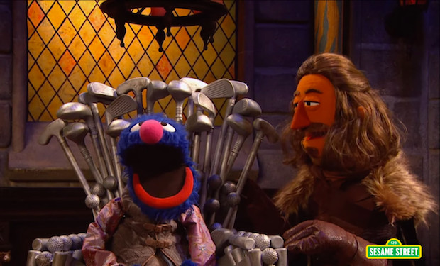 Sesame Street Game of Thrones
