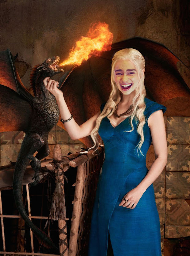 7. Khaleesi - Dragon