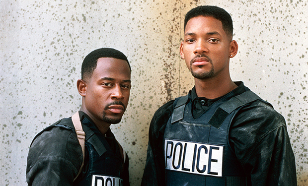 BAD BOYS, Martin Lawrence, Will Smith, 1995, (c) Columbia/courtesy Everett Collection