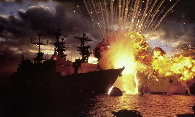 Pearl Harbor Explosion