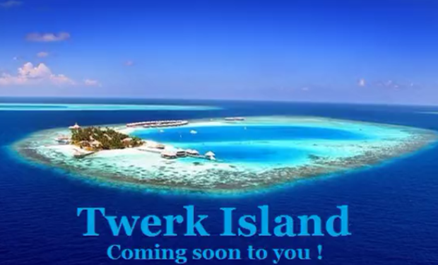 Twerk Island Lasaya international Kickstarter
