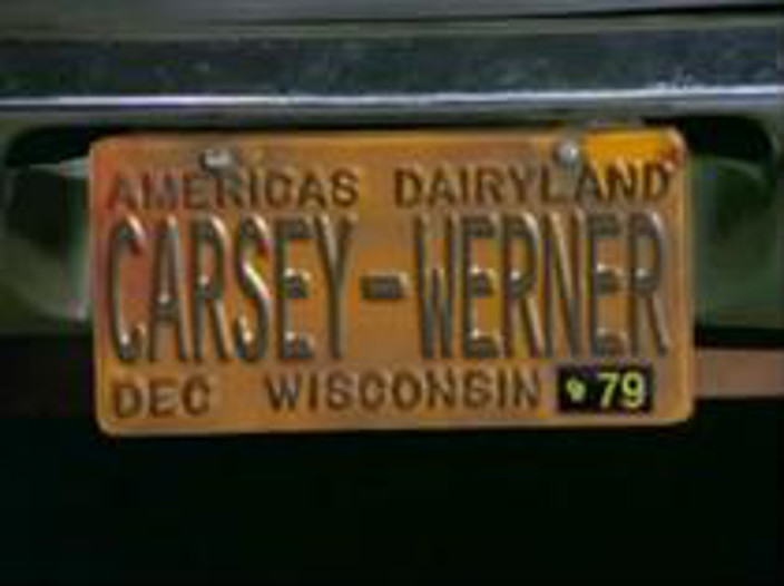 That 70s show license plate