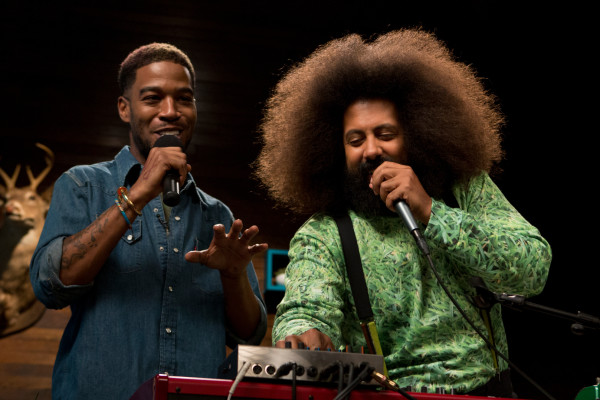 Kid Cudi Reggie Watts Comedy Bang Bang
