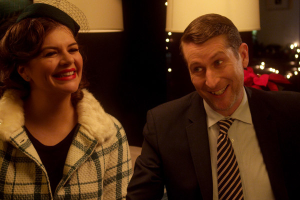 Scott Aukerman and Casey Wilson
