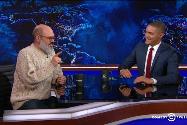 David Cross on Daily Show with Trevor Noah