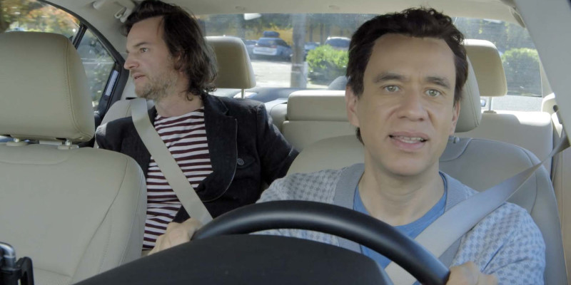 Talkative Driver Fred Armisen