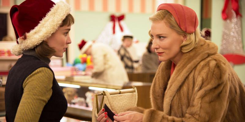 Carol Cate Blanchett Rooney Mara