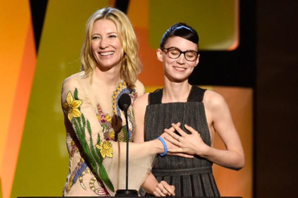 Cate Blanchett Rooney Mara Spirit Awards 2016