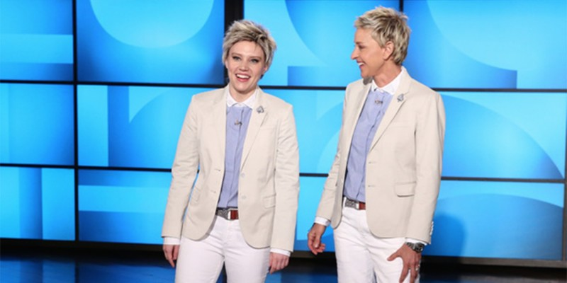Kate McKinnon as Ellen DeGeneres