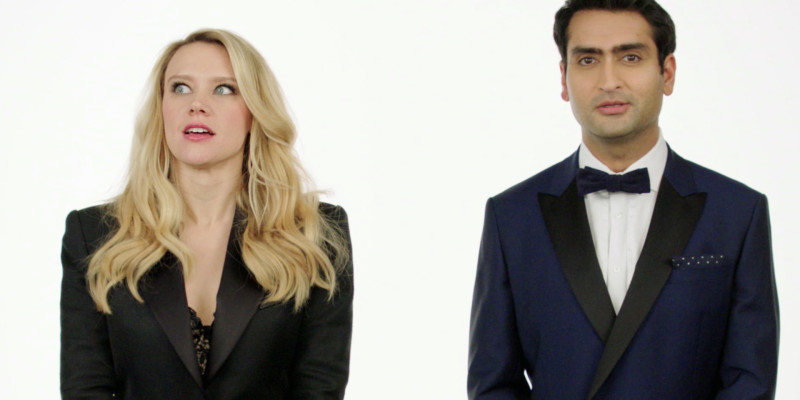 Kate McKinnon and Kumail Nanjiani 2016 Spirit Awards