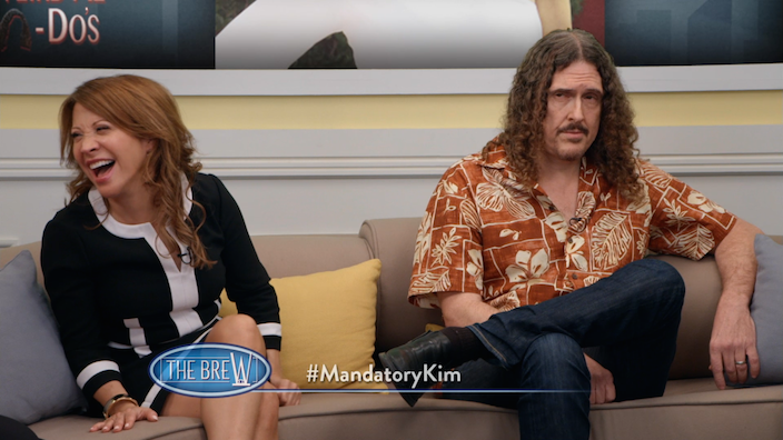 5. Weird Al and Cheri Oteri on Comedy Bang Bang