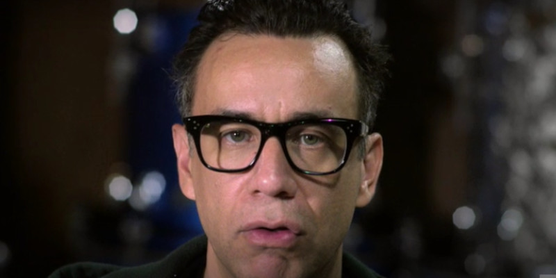 Fred Armisen Punk drummer