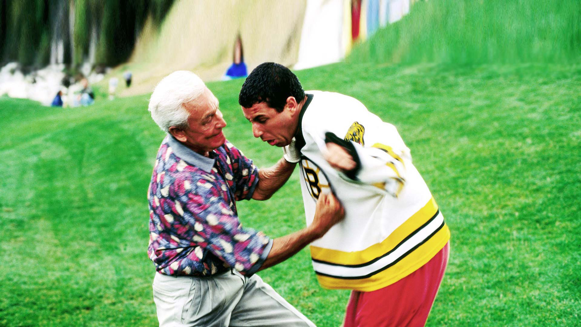 Happy Gilmore was a commercial success, earning $ million on a $12 million budget. This film was the first of multiple collaborations between Sandler and Dugan. The film won an MTV Movie Award for