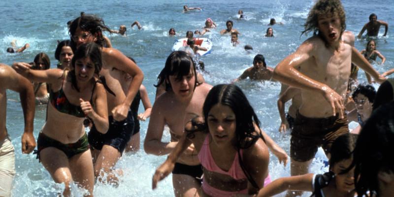 Jaws Beach Crowd