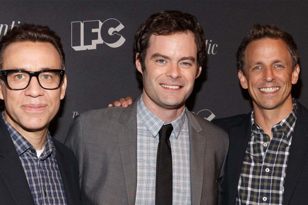 BIll Hader Seth Meyers Fred Armisen