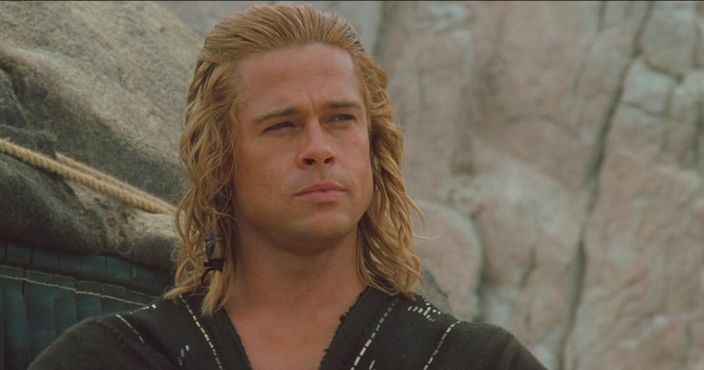 A Definitive Ranking of the Hairstyles of Troy – IFC Achilles Brad Pitt Hair
