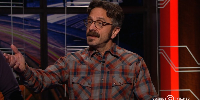 Marc Maron on at-midnight
