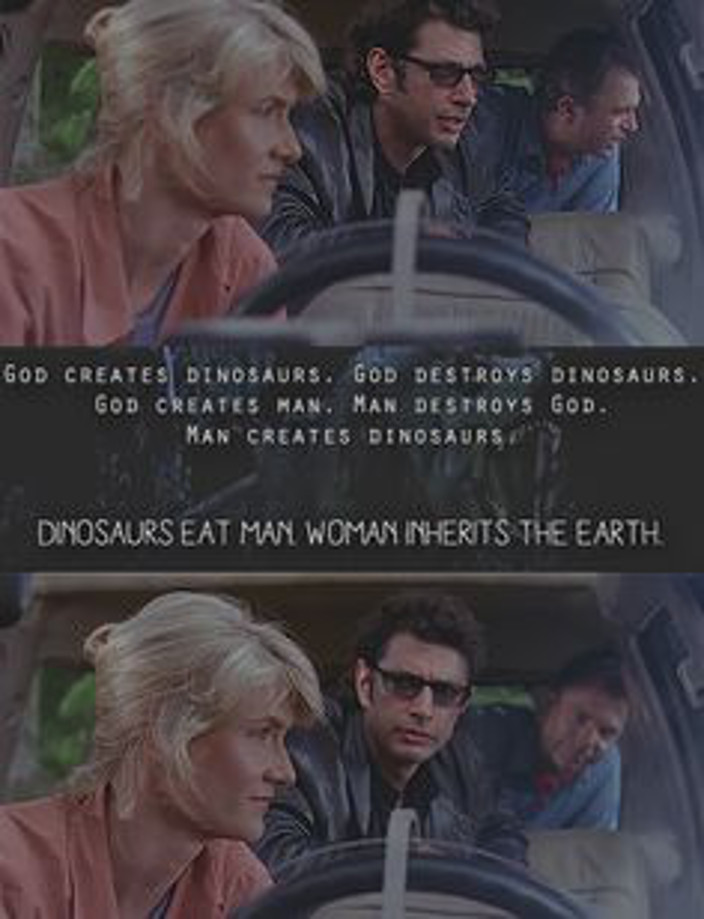 Jurassic Park Women Inherit