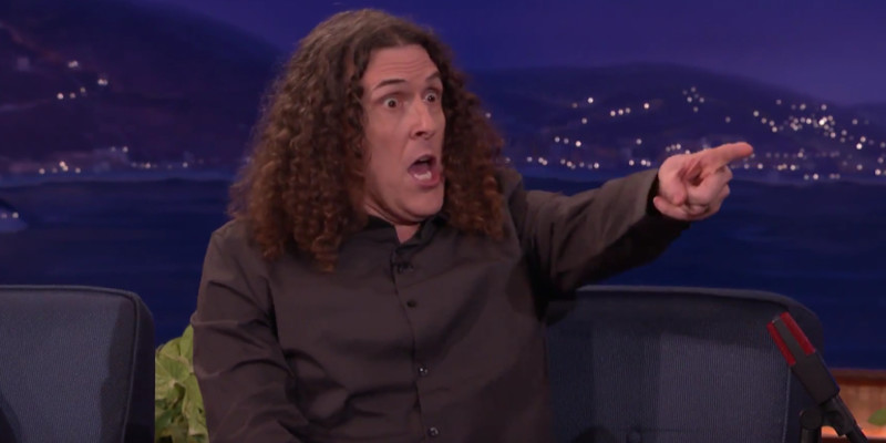 Weird Al Conan O'Brien