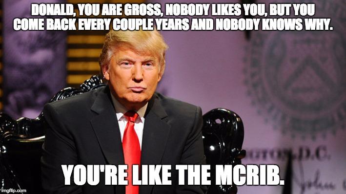 Donald McRib
