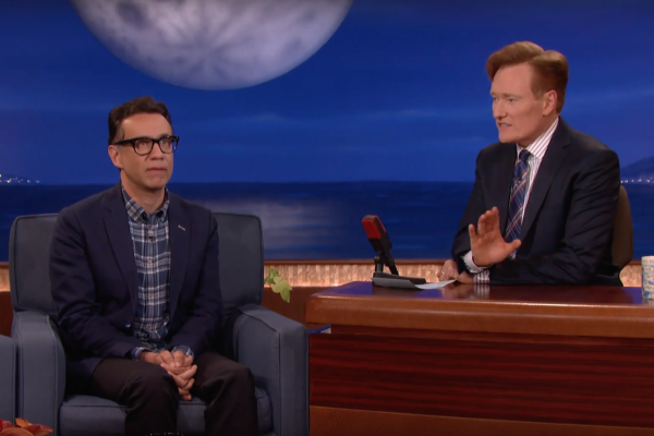 Fred Armisen on Conan 6-15-16