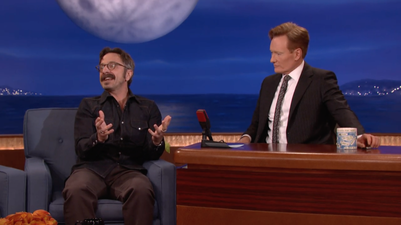 Marc Maron on Conan 6-8-16