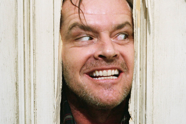 The Shining Jack Nicholson Through Door