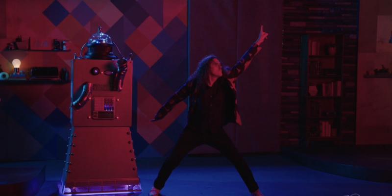 Weird Al Dances in Comedy Bang Bang Deleted Scene