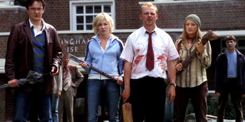 Shaun of the Dead Everett