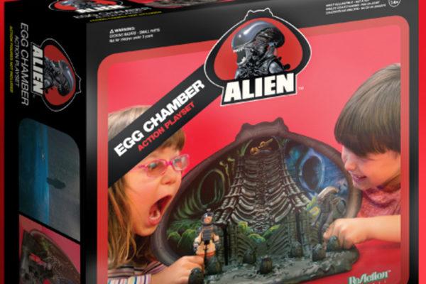 Alien Egg Chamber Playset