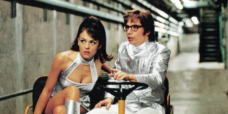 Austin Powers Mike Myers Elizabeth Hurley