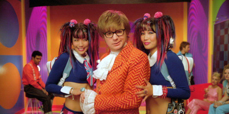 Austin Powers in Goldmember Mike Meyers