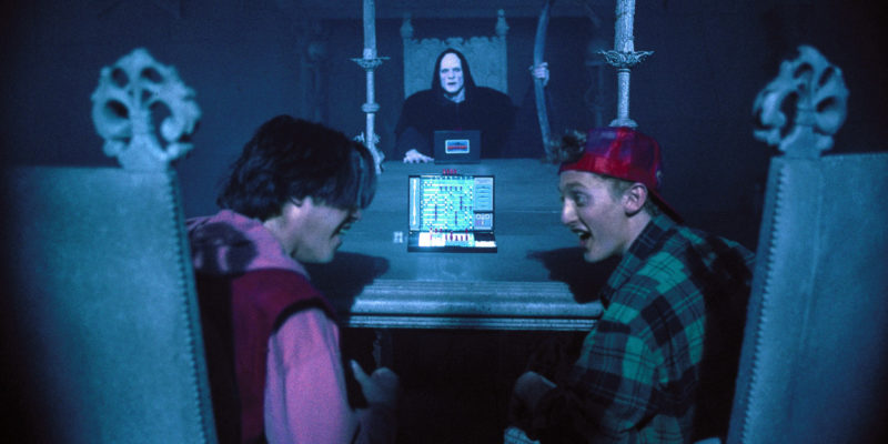Bill and Ted Bogus Journey Keanu Reeves Alex Winter