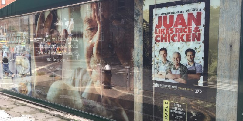 Juan Likes Rice and Chicken Storefront
