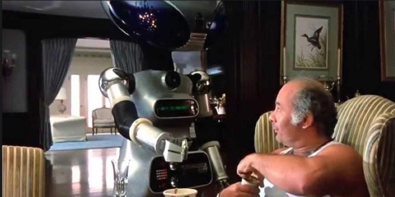 Rocky IV Paulie Robot
