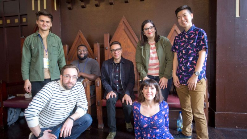 Fred Armisen and friends