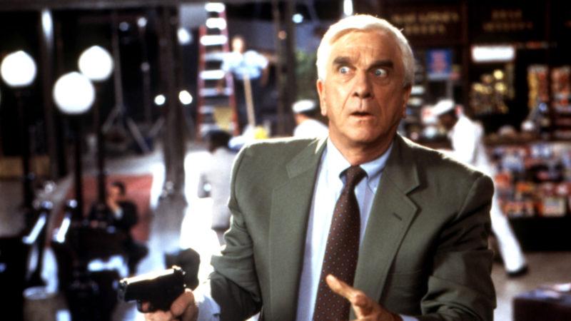 NAKED GUN 33 1/3: THE FINAL INSULT, Leslie Nielsen, 1994, (c)Paramount Pictures/courtesy Everett Col