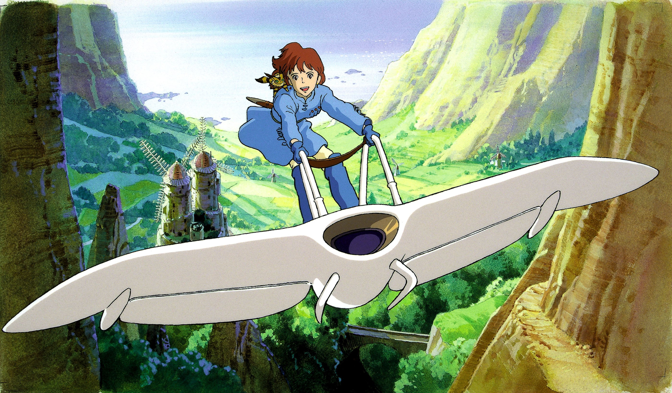 Nausicaa Of The Valley Of The Wind Map.Nausicaa Of The Valley Of The Wind Ifc Center