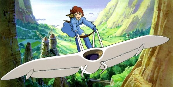 Studio Ghibli's Nausicaa of the Valley of the Wind
