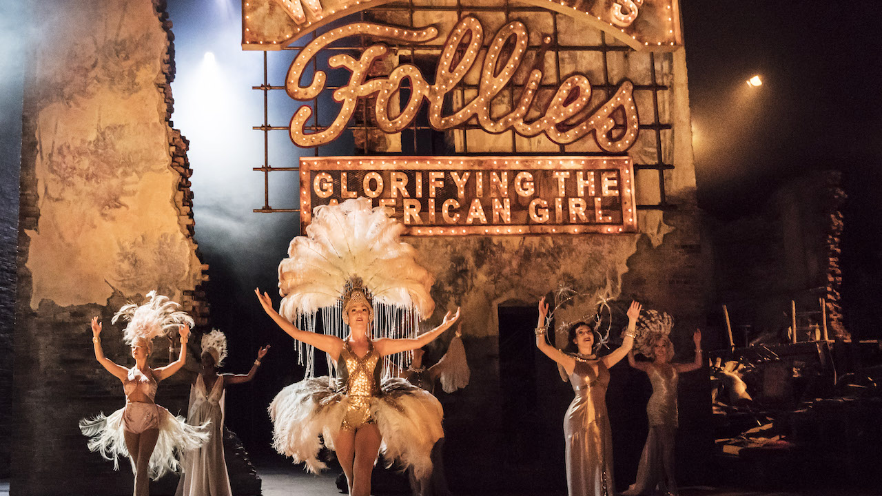 FOLLIES by Goldman ;  Directed by Dominic Cooke ; Designed by Vicki Mortimer ; at the National Theatre, London, UK ; 21 August 2017 ; Credit : Johan Persson