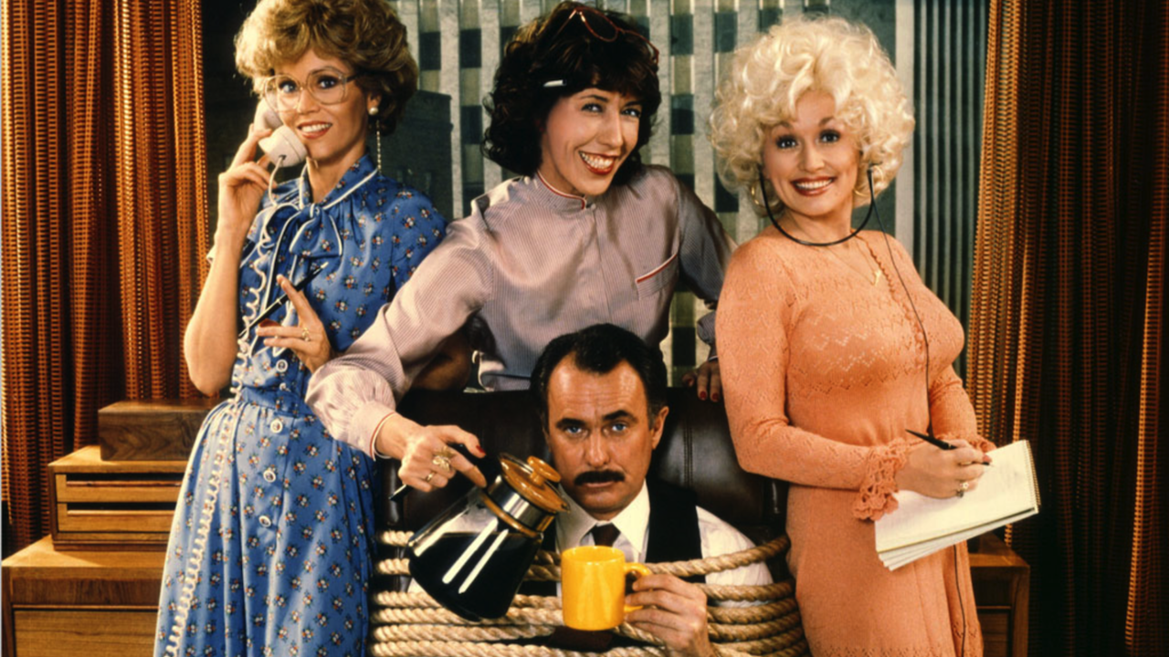 9 to 5 follows three women as they rebel against their misogynistic boss.