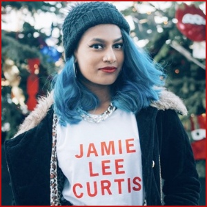 Jamie Lee Curtis-Red Text