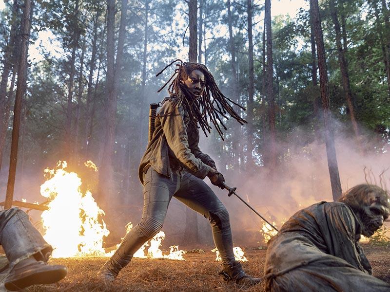 10 <em>The Walking Dead</em> Moments That Prove Michonne Is the Fiercest