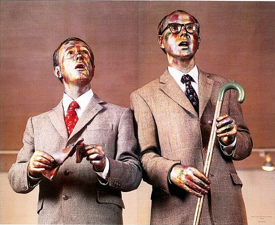 Gilbert And George: Not Much To Look At: Conceptual Art At The MoMA