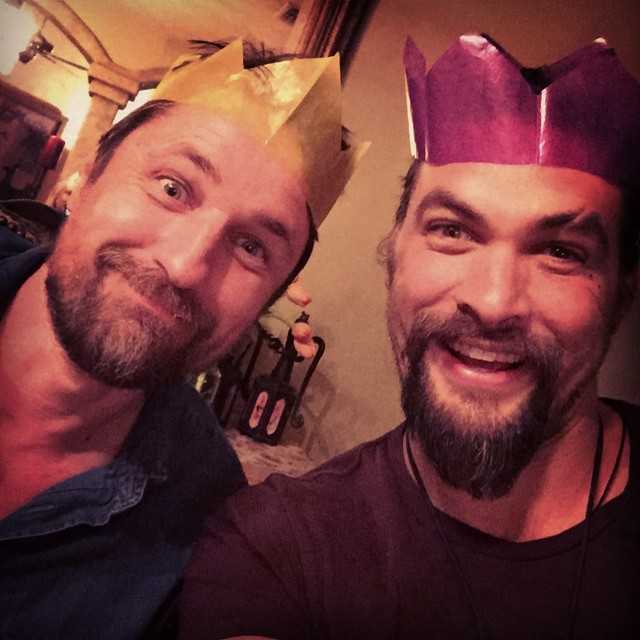 Jason Momoa Instagram: Jason Momoa And Martin Henderson Bromance