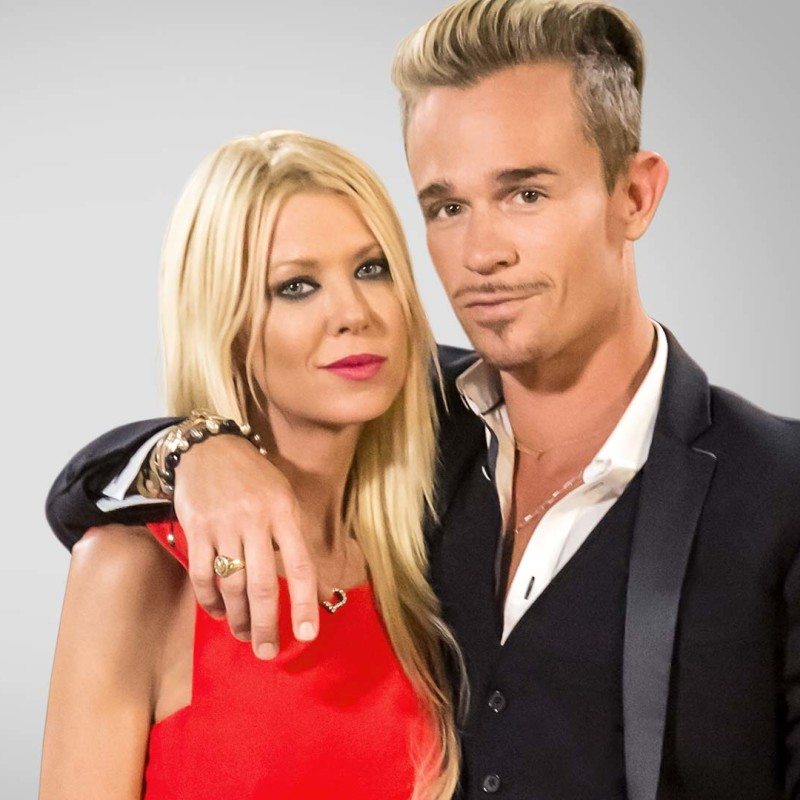 Tara Reid and Dean May