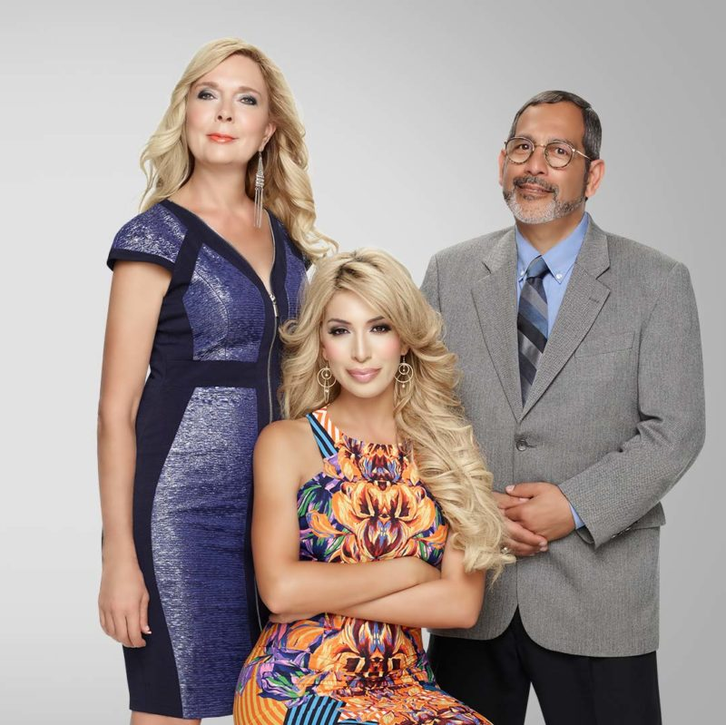 Farrah, Debra & Michael