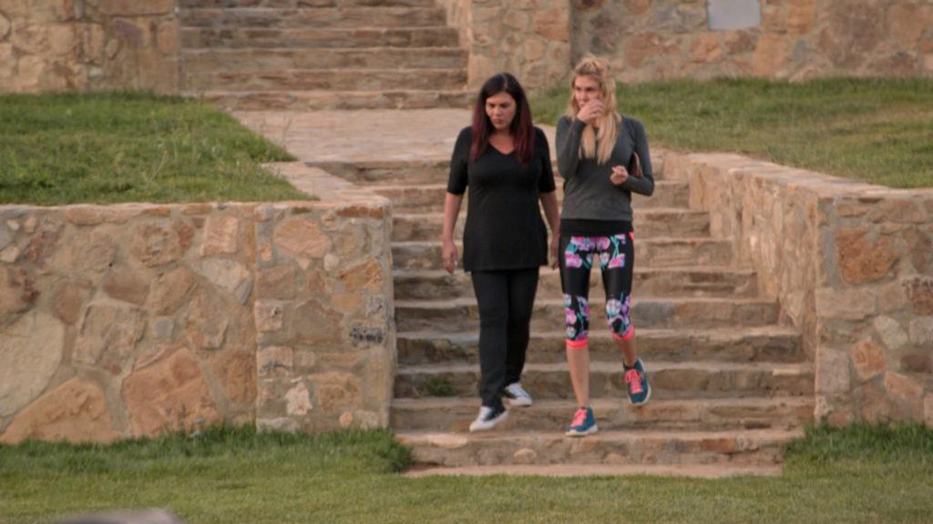 Lana and Brandi
