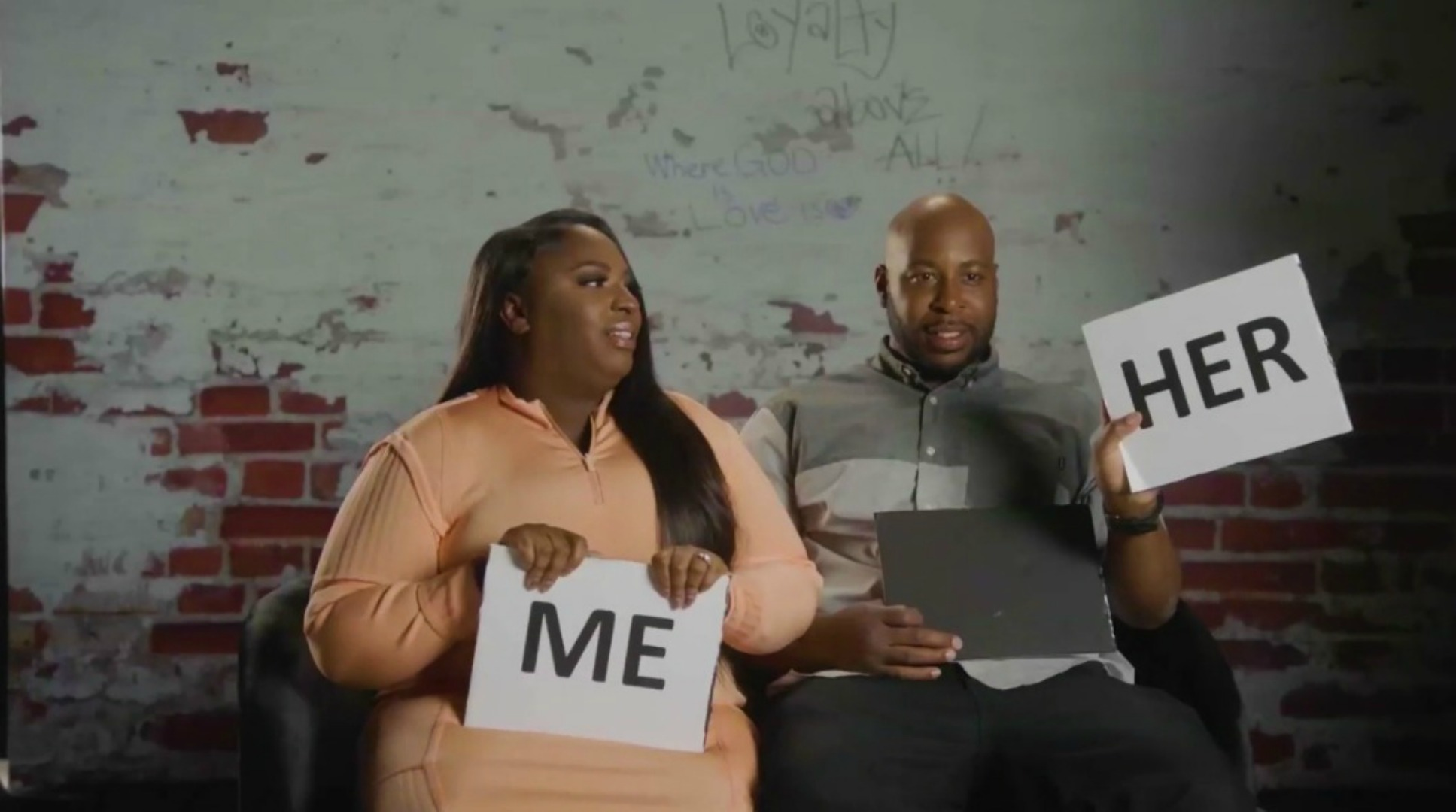 Him vs. Her: Andrea & Lamar